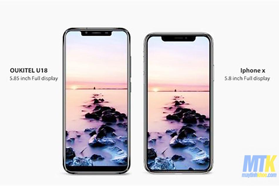 Xem qua bản iPhone X giá 4 triệu với pin 4000 mAh