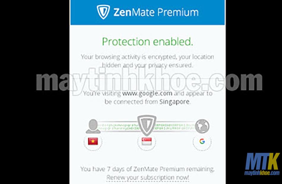 Giới thiệu Zenmate Premium